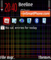 Scottish rainbow DI theme screenshot