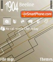 Slick white theme screenshot