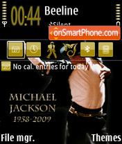 Mj01 theme screenshot