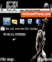 Lebron James theme screenshot