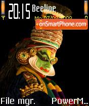 Kathakali theme screenshot