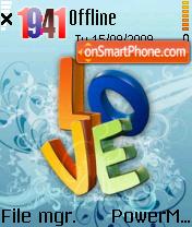 Cool Love es el tema de pantalla