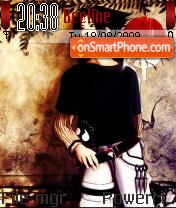 Uchiha Sasuke 08 theme screenshot