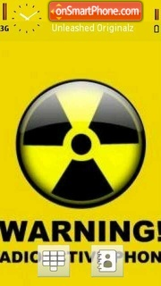 Radioactive 03 theme screenshot