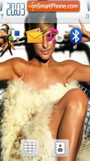 Скриншот темы Eva Mendes 08