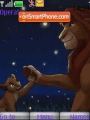 Simba 01 theme screenshot