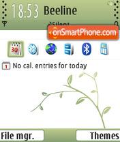 Summer Green Di FP1 es el tema de pantalla