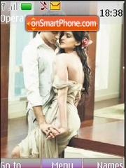 Imran Khan and Sonam Kapoor theme screenshot