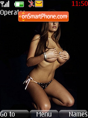 Lucy Pinder theme screenshot