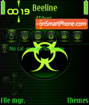Biohazard 04 theme screenshot