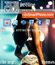Скриншот темы Megan Fox 10