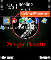 Dragon Breath theme screenshot