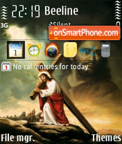 Jesus 02 theme screenshot