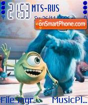 Monsters Inc theme screenshot