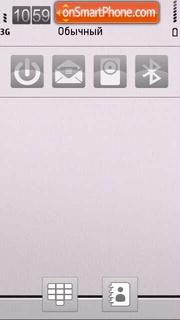 Plated White theme screenshot