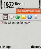 E55 Style theme screenshot