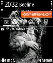 Tiger Design 01 theme screenshot