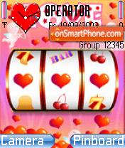 Love theme screenshot