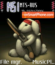 Ram Bunny theme screenshot