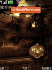 Скриншот темы Haunted 01