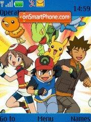 Скриншот темы Pokemon Monster