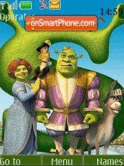 Скриншот темы Shrek 04