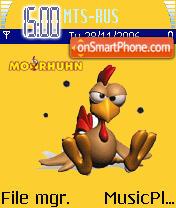 Moorhuhn es el tema de pantalla