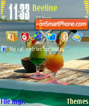 Cocktail 01 theme screenshot