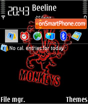 12 Monkeys 01 theme screenshot