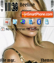 Скриншот темы Charlize Theron 13