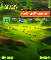 Green Nature 03 theme screenshot