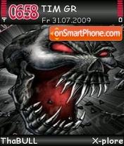 Скриншот темы Skull 03