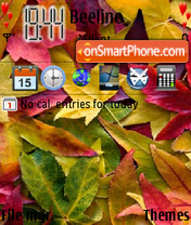Autumn Leaves 01 theme screenshot