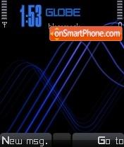 Xm Blue Mod Os7 theme screenshot
