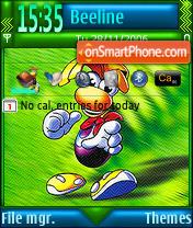 Capture d'écran Rayman 3 thème