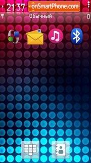 Light dots s60v theme screenshot
