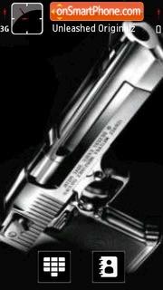 Guns 01 theme screenshot