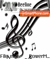 Music Key 02 tema screenshot