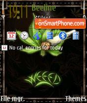 Weed 10 theme screenshot