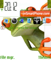 Frog 08 theme screenshot