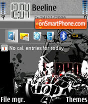 HipHop theme screenshot