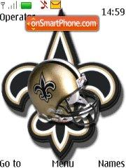 New Orleans Saints theme screenshot