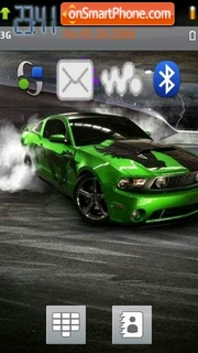 Drift King 01 theme screenshot