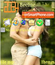 Скриншот темы Couple love