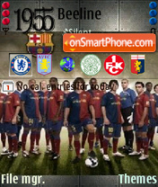 Barcelona 06 theme screenshot