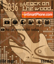 Capture d'écran I Rock On The Wood thème