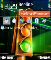 Traffic Light theme screenshot