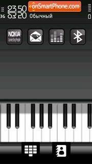 Piano 02 tema screenshot