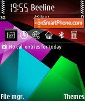 Pyramids 01 theme screenshot