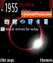 Eclipse default theme screenshot